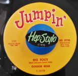 "45Re ✦ GOOGIE RENE ""Big Foot"" ✦ JOHNNY TWO-VOICE ""Superman""✦ Jumpin' Twin Spin ♫"